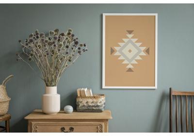 Ethnic downloadable print, Geometric print, Tribal art, Ethnic wall art, Printable art, Color Desert Beige